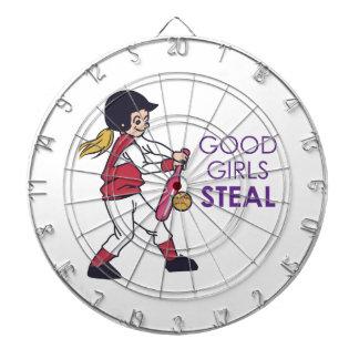 Good Girls Steal Dartboard