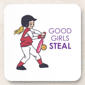 Good Girls Steal Drink Coaster