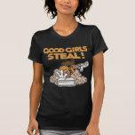 Good Girls Steal, gold Tee Shirt