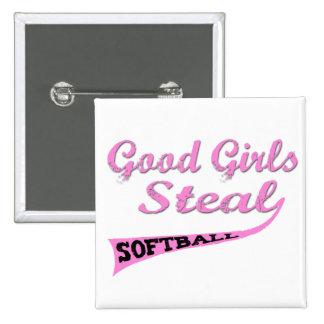 Good Girls Steal (Pink urban) Buttons