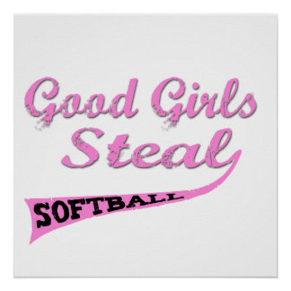 Good Girls Steal (Pink urban) Poster