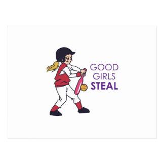 Good Girls Steal Postcard