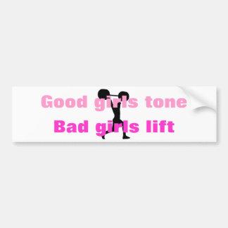 Good girls tone... car bumper sticker