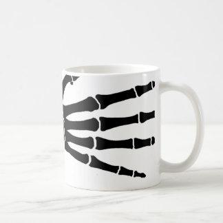 good good skeleton hand coffee mug