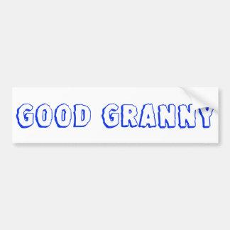 """Good Granny"" sticker"