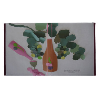 """Good Grapes 2 Wine"" iPad Case"