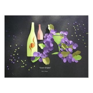 """""""Good Grapes"""" Invite"""