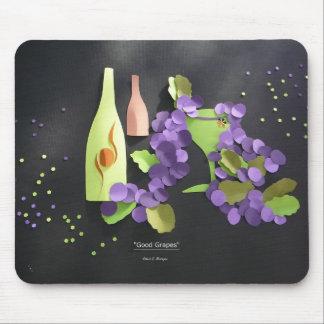 """""""Good Grapes"""" Mousepad"""