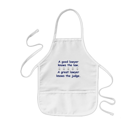 Good/Great Lawyer Kids' Apron