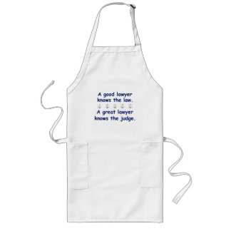 Good/Great Lawyer Long Apron
