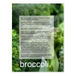 Good Growing Guide: Broccoli and radishes Postcard