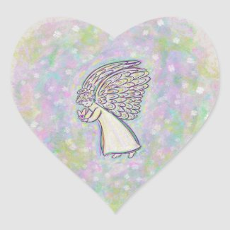 Good Guardian Angel Art Custom Decal Stickers