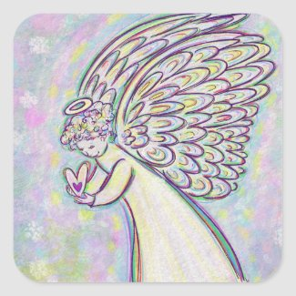 Good Guardian Angel Art Custom Sticker Decal