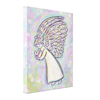Good Guardian Angel Painting Wrapped Canvas Art