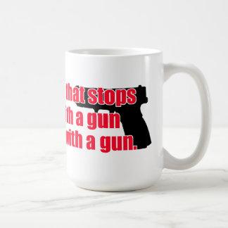 Good guy gun coffee mug