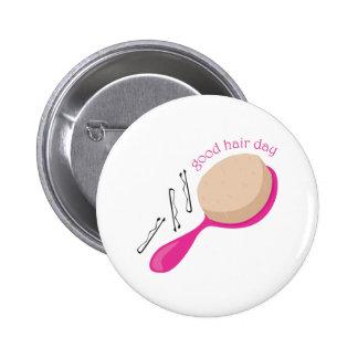 Good Hair Day Pinback Button