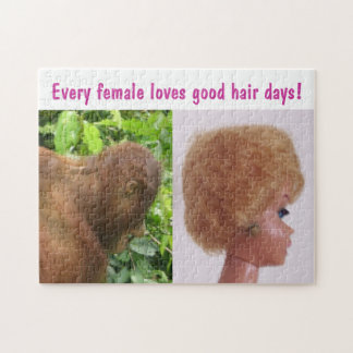Good Hair Day Jokes Jigsaw Puzzles