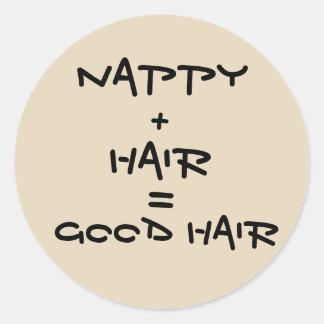 Good Hair Sticker