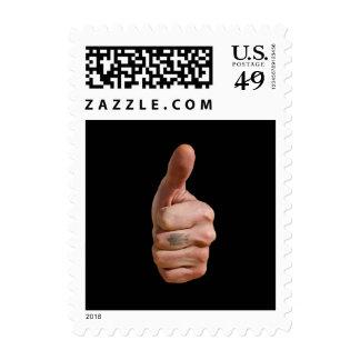 Good hand. postage stamp