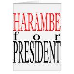 good harambe election president vote guardian gori card