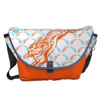 Good Hare Day Messenger Bag