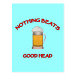 Good Head Postcard