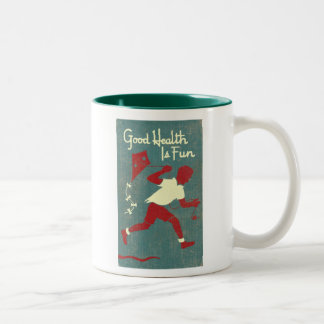 """GOOD HEALTH"" Coffee Mug"