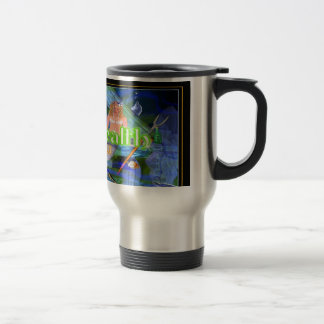 Good Health Wishes from fishes  by Valxart.com Travel Mug