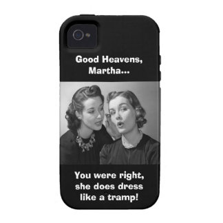 Good Heavens, Martha! - Clean Version Case For The iPhone 4
