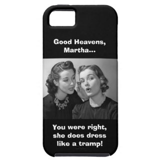 Good Heavens, Martha! - Clean Version iPhone SE/5/5s Case