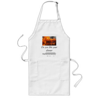 good home cooking long apron