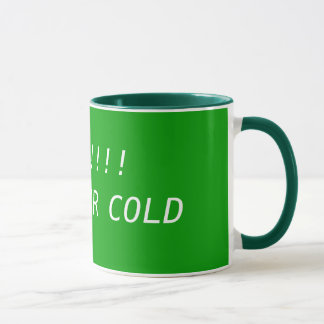 GOOD!!!!   HOT  OR COLD MUG
