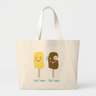 Good Humor, Bad Humor Jumbo Tote Bag
