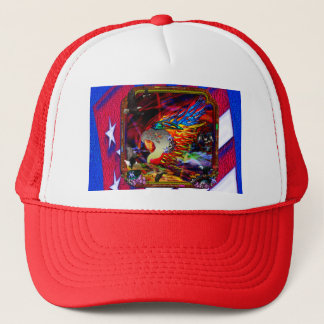 Good Hunting Abstract Background Trucker Hat