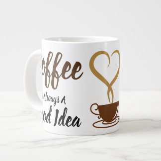 Good Idea Jumbo Large Coffee Mug