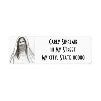 Good Jesus II Return Address Label