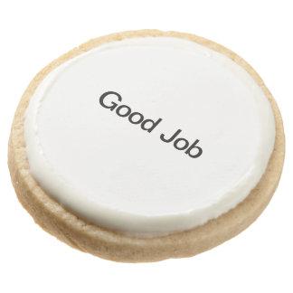 Good Job.ai Round Premium Shortbread Cookie
