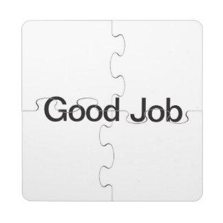 Good Job.ai Puzzle Coaster