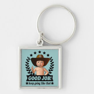 Good Job Baby Keychain