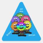 Good Job Cute Monster Stickers