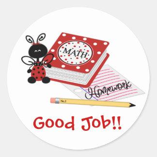Good Job Ladybug Sticker