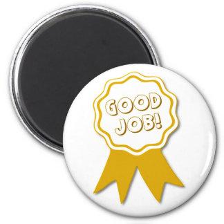 Good Job! Round Magnet