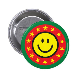 Good job smiley pinback button or pin for kids