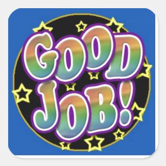 Good Job! Square Sticker