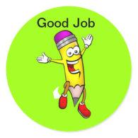 Good Job Stickers