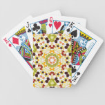 Good karma and well being from a healthy diet 2 bicycle playing cards