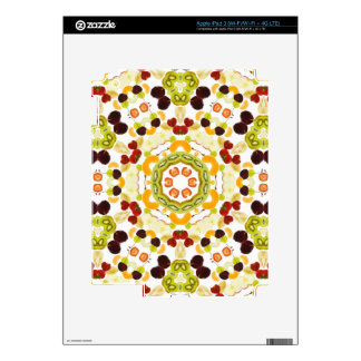 Good karma and well being from a healthy diet 2 iPad 3 skin