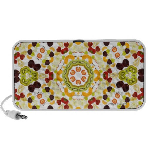 Good karma and well being from a healthy diet 2 notebook speakers