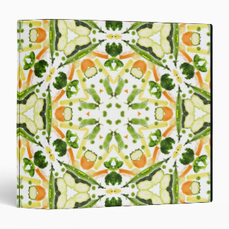 Good karma and well being from a healthy diet 3 3 ring binder