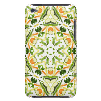 Good karma and well being from a healthy diet 3 iPod touch case